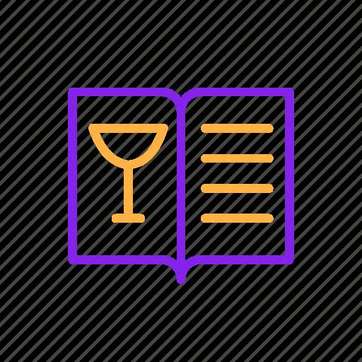 drink, menu, restaurant icon