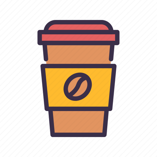 coffee, cup, drink, restaurant icon