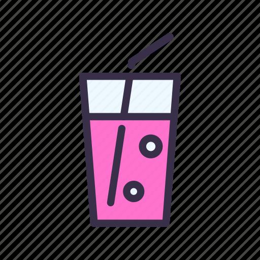 drink, juice, restaurant, soda icon