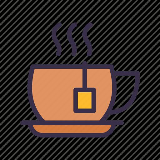 cup, hot, restaurant, tea icon