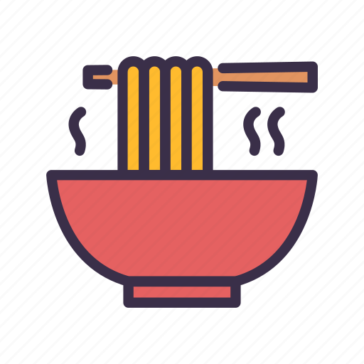 Bowl, chinese, food, noodle, restaurant icon - Download on Iconfinder