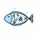 animal, fish, food, ocean, restaurant, seafood icon