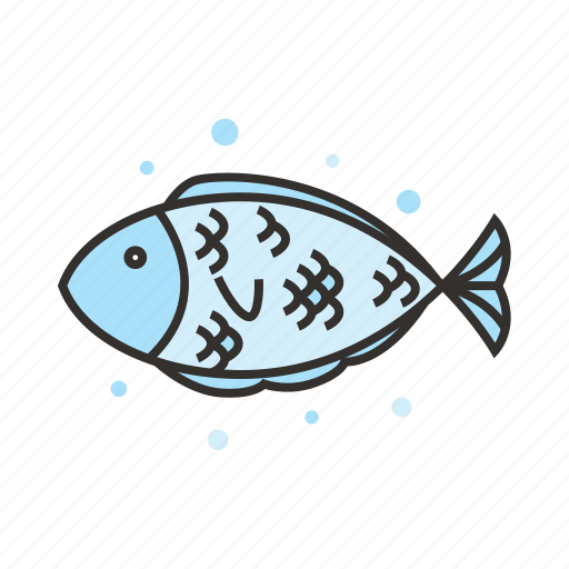 animal, fish, food, ocean, restaurant, seafood icon