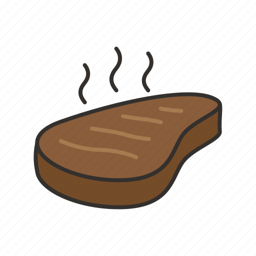 beef, food, grilled, meat, roast, steak icon