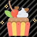 break, cupcake, dessert, muffin, sweets