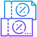 coupon, discount, percent, price, reduction icon