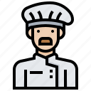 chef, cook, cuisine, job, restaurant icon