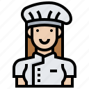 chef, cook, job, occupation, restaurant icon