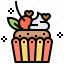 break, cupcake, dessert, muffin, sweets icon