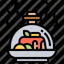 dining, fine, food, restaurant, serve icon