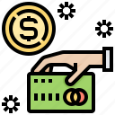 card, cash, credit, money, payment icon