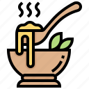 bowl, food, gruel, porridge, soup icon