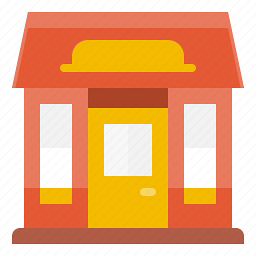 building, business, estate, house, office, shop, store icon