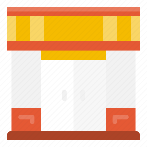 building, business, element, estate, restaurant, shop, store icon