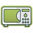 appliance, kitchen, kitchenware, microwave, restaurant equipment icon