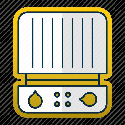cooking, equipment, grill, kitchen, kitchenware, press, restaurant icon