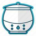 cooking, equipment, kitchen, kitchenware, restaurant, soup, warmer icon