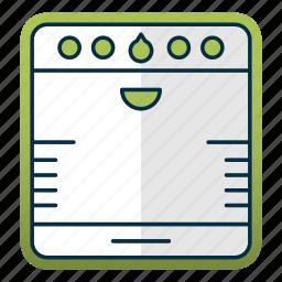 equipment, kitchen, kitchenware, restaurant, stove icon