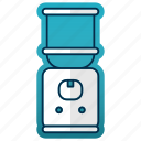 dispenser, equipment, kitchen, kitchenware, restaurant, water icon