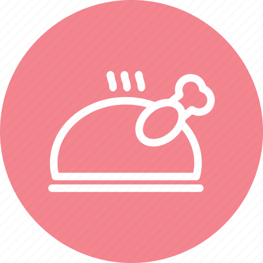 chicken, food, hot food, meal, meat, restaurant, roti icon