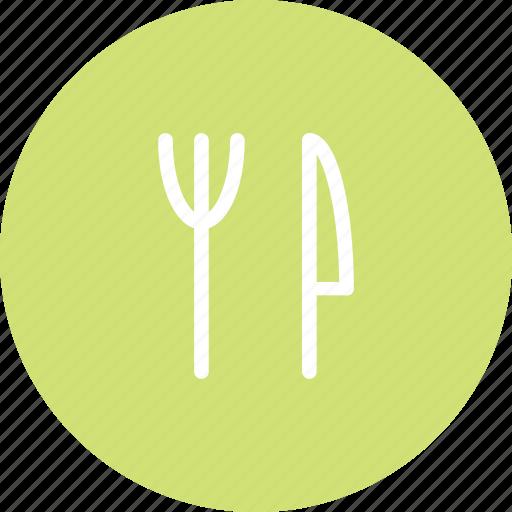food, fork, knife, meal, restaurant icon