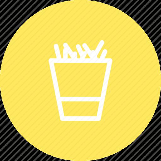 fast food, frites, potato, potatoes, restaurant icon