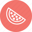 dessert, fruit, melon, watermelon, watermelon icon icon