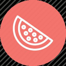 dessert, fruit, melon, watermelon, watermelon icon icon