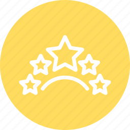 five stars, rating, rating icon, restaurant rating, stars icon