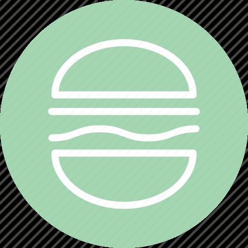 burger, fast food, hamburger, restaurant, sandwich, sandwich icon icon