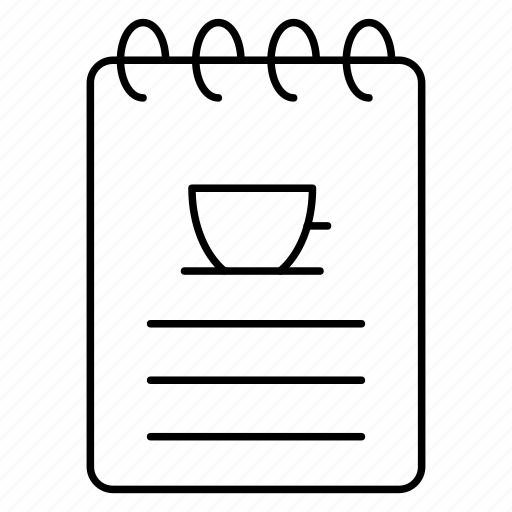 Cafe, food, food menu, list, menu, restaurant, tea icon - Download on Iconfinder