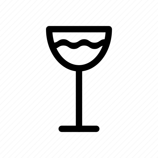 beverage, drink, glass, glass icon, water, wine icon