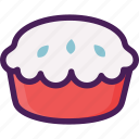 bread, cake, dessert, pastries, pie icon