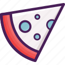 food, pizza, restaurant, slice icon
