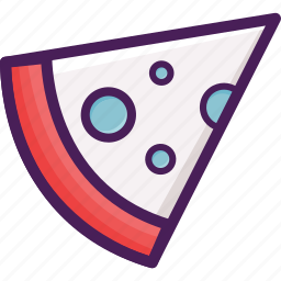 food, pizza, restaurant, slice icon