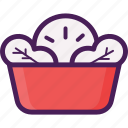 food, salad, vegetable, vegetarian icon