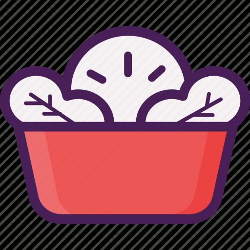 food, salad, vegetable, vegetarian icon