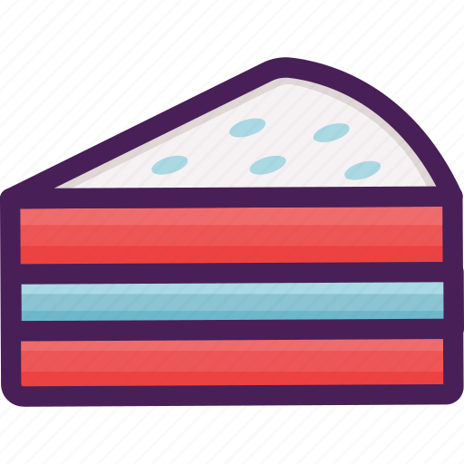 bakery, cake, dessert, pastries, slice icon