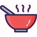 food, soup, vegetables icon