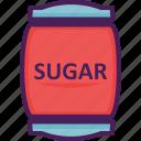 sugar, sweet