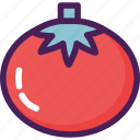 food, fruit, tomato, vegetable, vegetarian icon