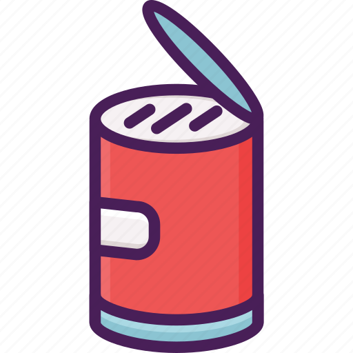 canned, food, package icon