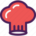chef, hat, job, uniform icon
