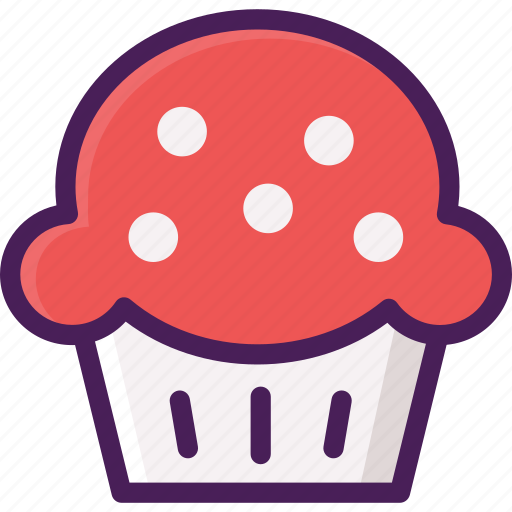 bakery, cake, cup, cup cake, dessert, pastries icon