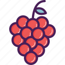 berry, food, fruit, grape, grapes icon