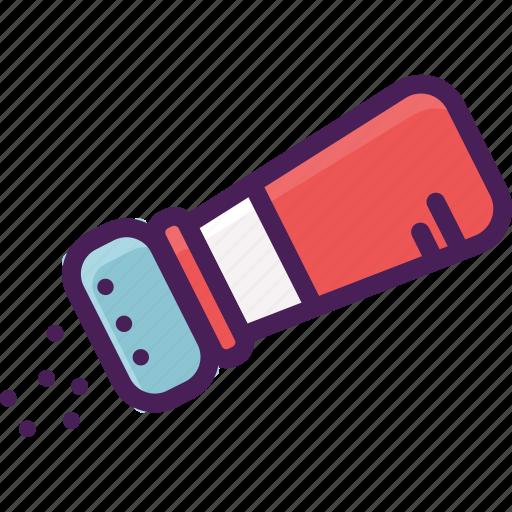 bottle, pepper, salt, seasoning, shaker icon