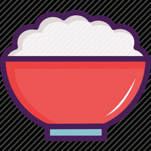 asian, bowl, restaurant, rice icon