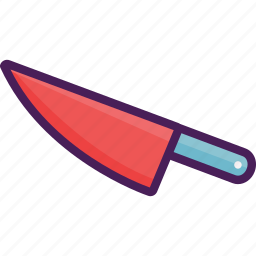 chef, cook, kitchen, knife icon