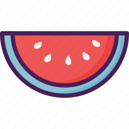 agriculture, food, fruit, watermelon icon