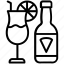 beer, cocktail, margarita, martini, mix drinks icon